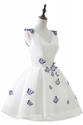 ANGEL | A-line Cute Homecoming Dress With Butterfly_4