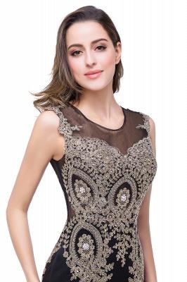 ADDISYN | Mermaid Floor-length Chiffon Evening Dress with Appliques_17