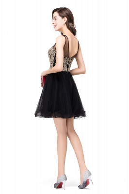v back cocktail homecoming dresses