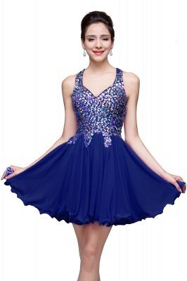 ELIANNA | Платье выпускного вечера с шифоновыми шифонами без рукавов с бриллиантами_4
