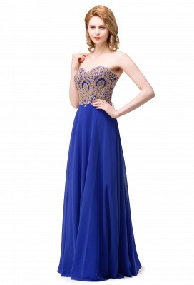 ERICA | A-Line Sweetheart Floor-Length Prom Dresses with Embroidery Beads_1