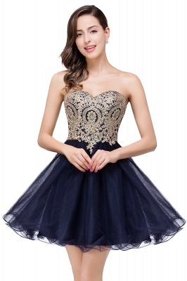 Gabriela   A Line Lace Appliques Sweetheart Short Prom Dresses_4