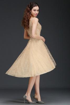ANNABELLA   A linha Hi-Lo Popular vestido de boas vindas com pérolas_4