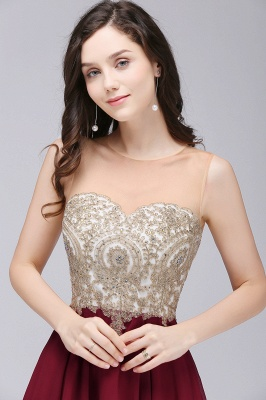 Applique Cocktail Party Dresses