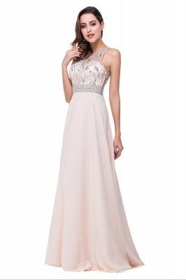 ADALYN | A-line Jewel Chiffon Prom Dress with Beading Crystal_10