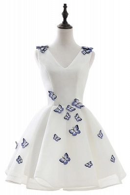 ANGEL | A-line Cute Homecoming Dress With Butterfly_1