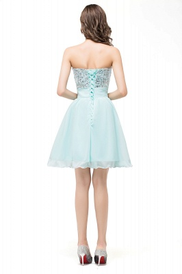ESTELLA | A-line Sweetheart Sleeveless Chiffon Short Prom Dresses with Sequins_3