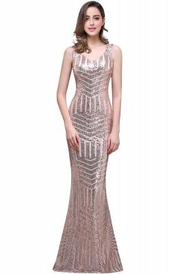 EVERLEIGH | Mermaid V-neck Sleeveless Floor-Length Sequins Prom Dresses_3