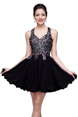 ELIANNA | Платье выпускного вечера с шифоновыми шифонами без рукавов с бриллиантами_5