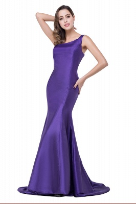 AILEEN | Mermaid One Shoulder Satin Evening Dress_2