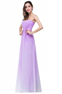 ADRIENNE | A-line Strapless Chiffon Bridesmaid Dress_6