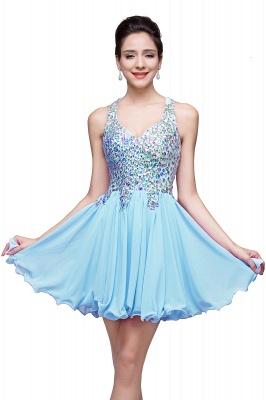 ELIANNA | Платье выпускного вечера с шифоновыми шифонами без рукавов с бриллиантами_3