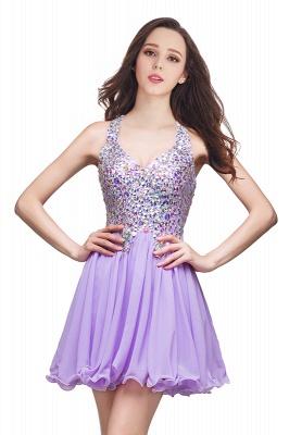 ELIANNA | Платье выпускного вечера с шифоновыми шифонами без рукавов с бриллиантами_2
