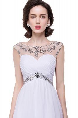 AITANA | A-line Jewel Chiffon Party Dress With  Crystal_8