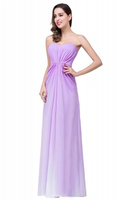 ADRIENNE | A-line Strapless Chiffon Bridesmaid Dress_4