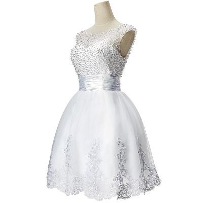 CELIA | Vestido de fiesta de tul con una línea de A-line_4
