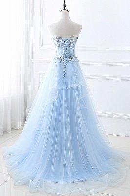 CHARLIZE | Vestido de fiesta Sweetheart Tulle Sky Blue Vestido de fiesta barato con lentejuelas_3