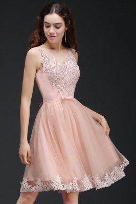 ANIYAH | A-ligne courte robe de retour mignon avec dentelle_6
