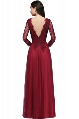 v back evening dresses