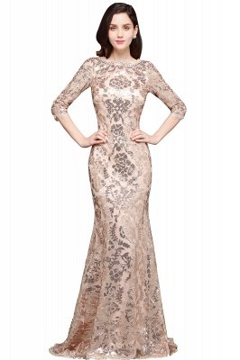 AVERI | Mermaid Scoop Sequins Gorgeous Prom Dress_1