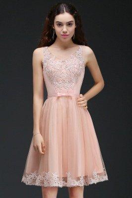 ANIYAH | A-ligne courte robe de retour mignon avec dentelle_2
