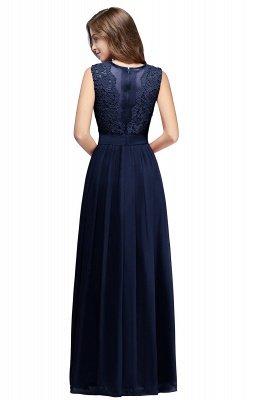 EMELY | Sheath Crew Sleeveless Floor-length Lace Top Chiffon Bridesmaid Dresses_12