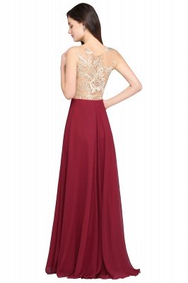 Royal Burgundy Evening Dress