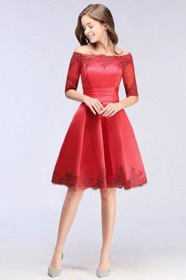 half sleeve homecoming dresses