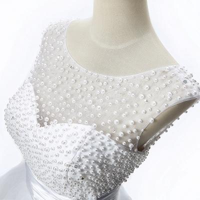 CELIA | A-Linie Juwel Tüll Partykleid mit Perlenstickerei_5