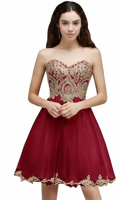 ANIYA | A-line Short Cute Homecoming Dress With Applliques_1