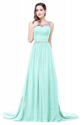 AIMEE | A-Linie Gericht Zug Chiffon Party Kleid mit Perlenstickerei_8