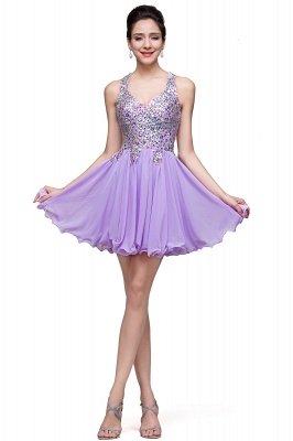 beads short prom dresses