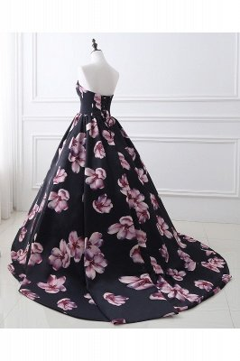 ALESSANDRA   A Line Sweetheart Long Evening Dresses With Print_9