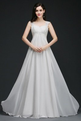 straps wedding dresses