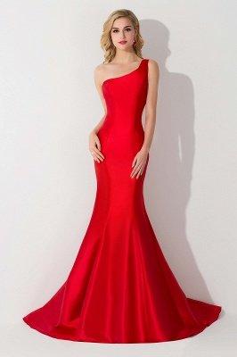 AILEEN | Mermaid One Shoulder Satin Evening Dress_6
