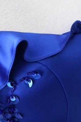 Потрясающие с плеча синие платья тюль-бейс платья Тюль_9
