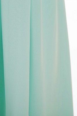 Einfache A-Linie Chiffon Brautjungfernkleider Lang | Brautjungfer Kleid Eine Schulter_7