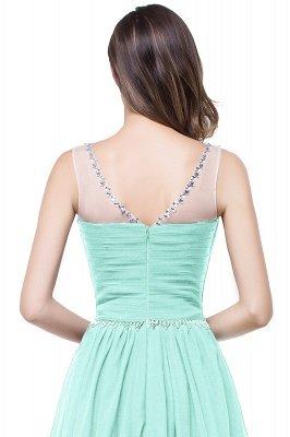 AIMEE | A-Linie Gericht Zug Chiffon Party Kleid mit Perlenstickerei_9