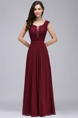 Floor-length Prom Evening Dresses
