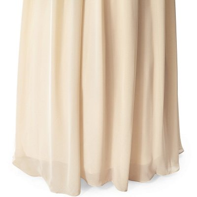 AISLINN | A-line V-neck Chiffon Party Dress With  Sequined_10