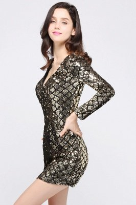 Sexy Sequins Sheath Party&Cocktail dress