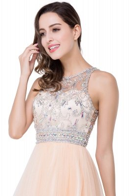 sleeveless short prom dresses