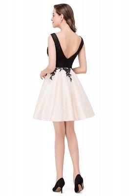 EVA | A-line Sleeveless Lace Appliques Short Prom Dresses_13