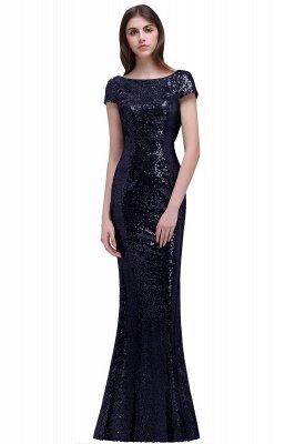 Frauen Sparkly Rose Gold Lange Pailletten Brautjungfer Kleider Prom / Abendkleider_4