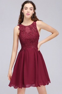 Short A-line Homecoming Dresses