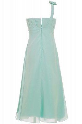 Einfache A-Linie Chiffon Brautjungfernkleider Lang | Brautjungfer Kleid Eine Schulter_5