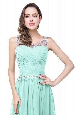AIMEE | A-Linie Gericht Zug Chiffon Party Kleid mit Perlenstickerei_11
