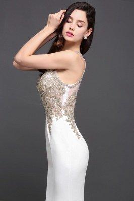 AVERIE | Русалочка совок шифона Элегантное платье выпускного вечера с аппликациями_7