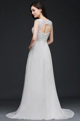 chiffon lace wedding dresses
