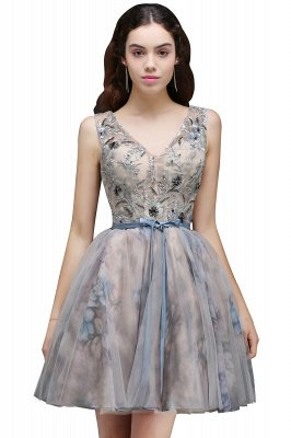 A-line Homecoming Party Dress
